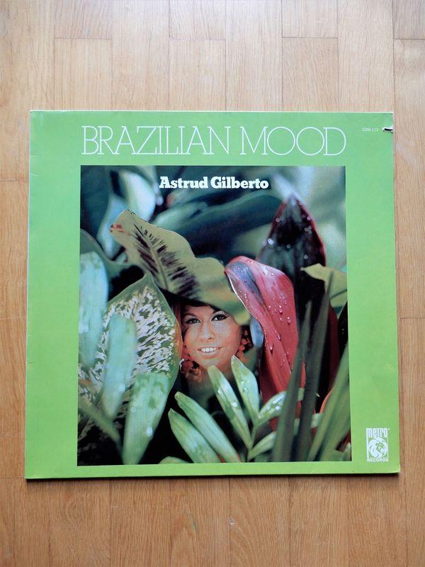 Astrud Gilberto Brazilian Mood LP