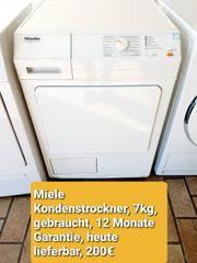Miele Kondenstrockner 7kg gebraucht 12