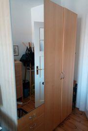 IKEA PAX Kleiderschrank Birke 150x236x58