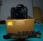NikonD750 MB-D16 Griff und SD