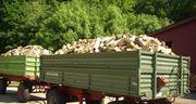 Verkauf von Hartholz als Brennholz