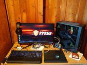 gaming pc set