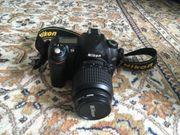 Nikon DX Digitale Spiegelreflex 18-55mm