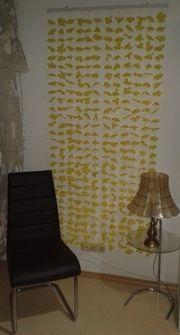 Blumen-Vorhang Gardinen-Vorhang Schiebegardine Deko-Gardine