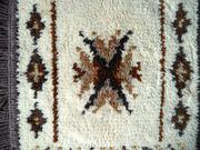 Kleiner Fransenteppich aus den 70er