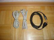 3 X Stromkabel für PC