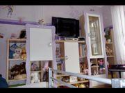 Komplettes Kinderzimmer Bett Schrank Wohnwand