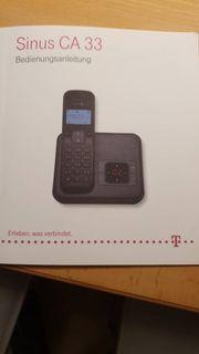 Schnurloses Telefon Sinus CA 33