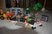 Playmobil Strassenbau mit Baucontainer und