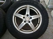 Ganzjahresreifen auf Alufelgen Reifen neuwertig