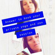 Yoga meditation von Malibu lehrerin