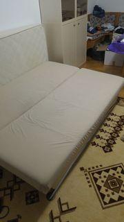 Couch mit Bettkasten und Bettfunktion