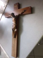 altes antikes Kreuz Wandkreuz