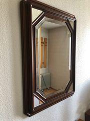 Spiegel mit geschliffenem Glas