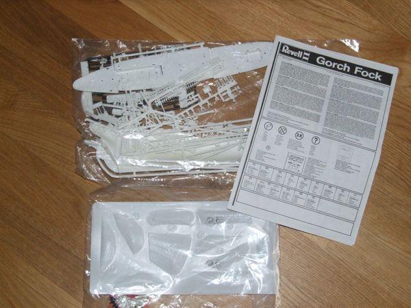 Modellbausatz Revell Gorch Fock 05412