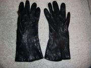 Damen Leder Handschuhe Gr 7