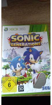 Sonic Generations X Box 360