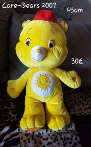 Care-Bears 2007 Glücksbärchi gelb Sonne