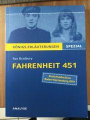 Fahrenheit 451 Königs Erläuterungen Spezial