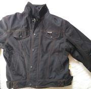 Herren Textil-Motorradjacke im Jeanslook