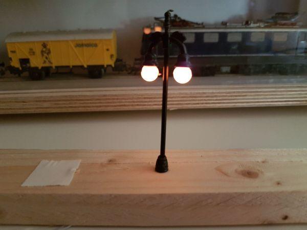 LED Parklampe HO Modelleisenbahn