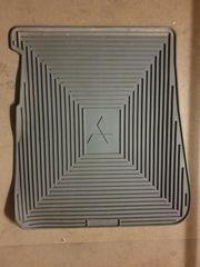Z1621916 Paßform-Gummimatte hinten links grau