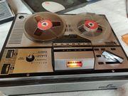 Antikes Grundig Tonbandgerät Funktionszustand unklar