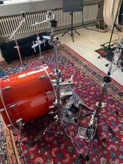 Schlagzeug- Zusatz Equipment Tausch