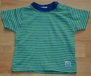 NEU - Gestreiftes T-Shirt - Größe 68 - Kurzarm -