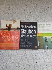 christliche Bücher 3 Stück