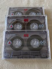 TDK AE60 Kassetten 3 Stück