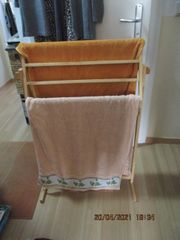 IKEA Bambus Handtuchständer Halter zusammengebaut