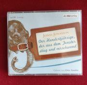 CD-Hörbuch Der Hundertjährige der aus