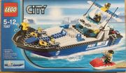 Lego City 7287 Polizeiboot Küstenwache