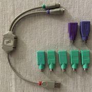 Konvolut PS2- USB Adapter