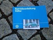 Betriebsanleitung VW Käfer Mexiko 1983