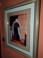 Rosina Wachtmeister handsigniert Bild Venedig