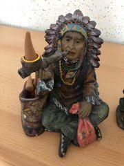 2 schöne Indianer als Deko