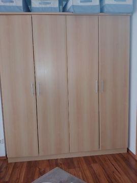 Schränke, Sonstige Schlafzimmermöbel - Schlafzimmer Kleiderschrank Bett mit Überbau