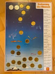 Raumfahrt Medaillen Sammlung Eroberung des