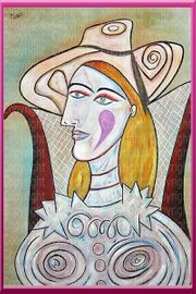 Pablo Picasso Meisterwerk Femme NEU