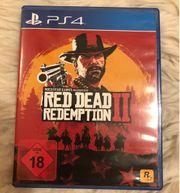 PlayStation 4 Spiel Red dead
