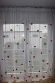 Vorhänge Gardinen Store Schlaufen mit