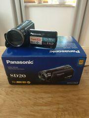 Panasonic SD20 Camcorder