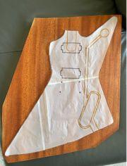 Mahagoni Body Brett für Gitarre