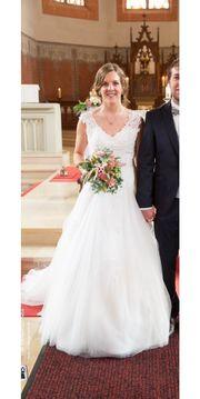 Hochzeitskleid Brautkleid Gr M 38