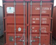 20 DV Lagercontainer Seecontainer Materialcontainer