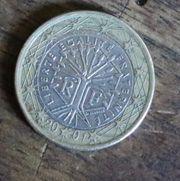 1 Euro Münze Fehlprägung 2001