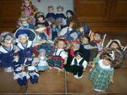 Konvolut 27 Puppen Charakter- Sammlerpuppen