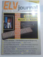 Elektronik Zeitschrift ELV-Journal mit Platinenfolien